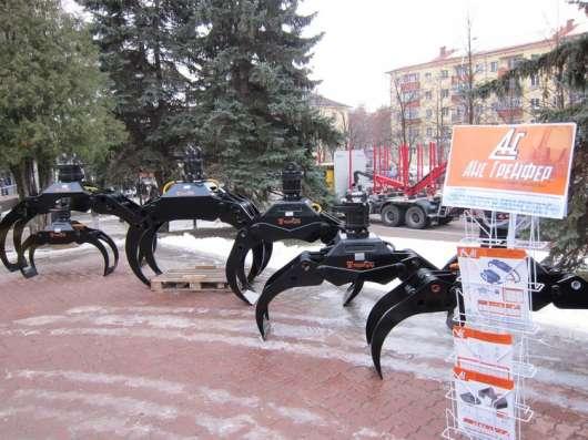 Грейфер для металлолома, для леса, для сыпучих материалов, к в Москве Фото 5