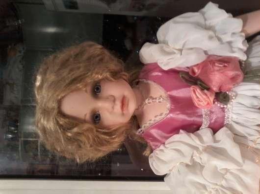 фарфоровая кукла Лидия 41 см