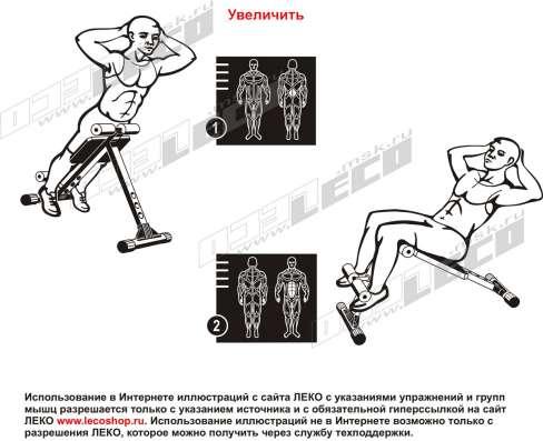 Продам нов.Скамья универсальная для пресса и мышц спины в Хабаровске Фото 1