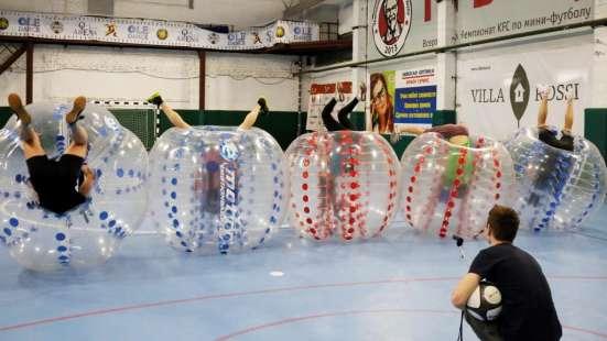 Бампербол Футбол в шарах Корпоратив День рождения в Санкт-Петербурге Фото 3