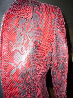 Натуральная кожаная женская куртка в Шадринске Фото 2