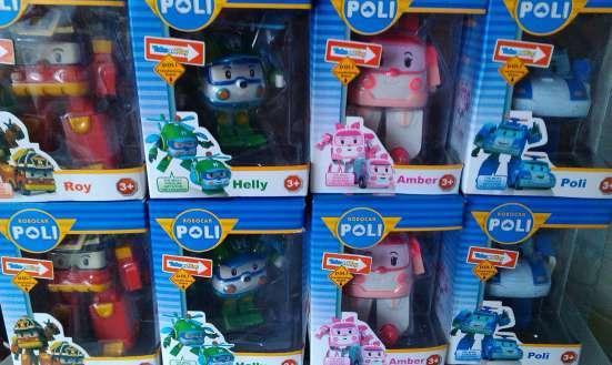 Купить парковку Робокар Поли В Омске