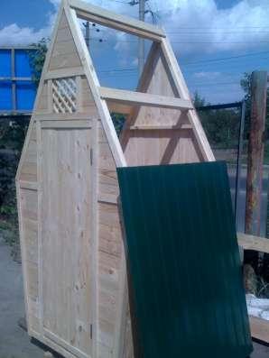 Туалетная кабина дерево - от производителя. Доставка.
