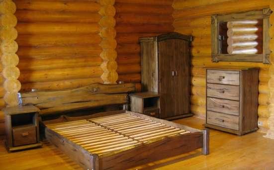 Состаренная мебель из массива