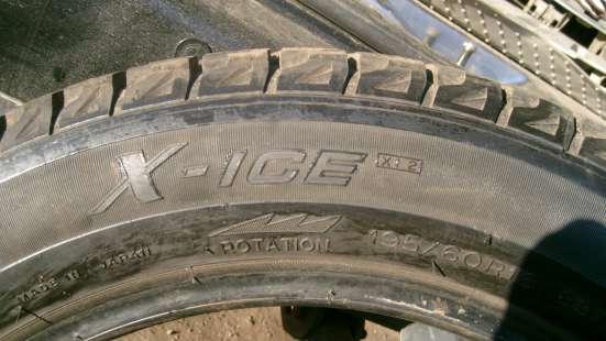 "Продаю шины зимние Michelin X-ICE-2 195/60 R16 "" липучка "" в Орехово-Зуево Фото 2"
