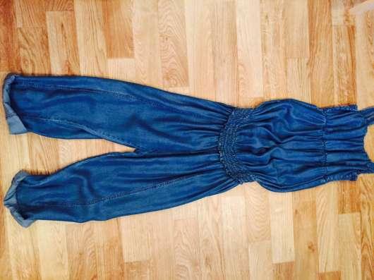 Комбинезон для беременной, размер s, цвет синий