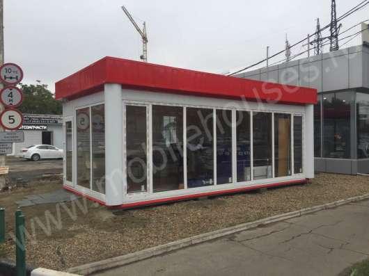 Строительство торговых павильонов в Краснодаре Фото 4