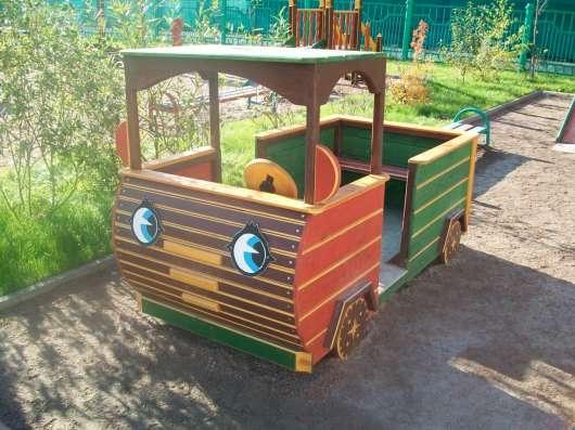 Деревянные домики и машины для детей в Подольске Фото 1