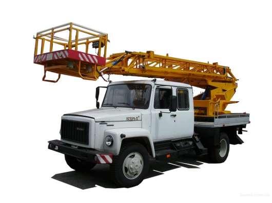 Заказ автовышек от 16 до 30 метров.