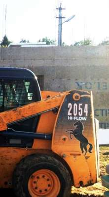 мини погрузчик Mustang 2054DX Б/У год выпуска 2011
