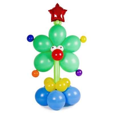 Оформление шарами на Новый год в Смоленске Фото 3
