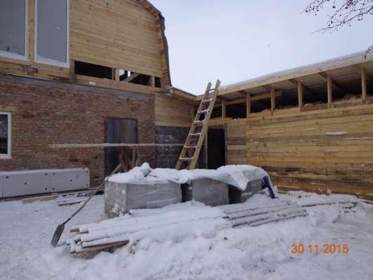 Строительство домов+ремонт помещений.