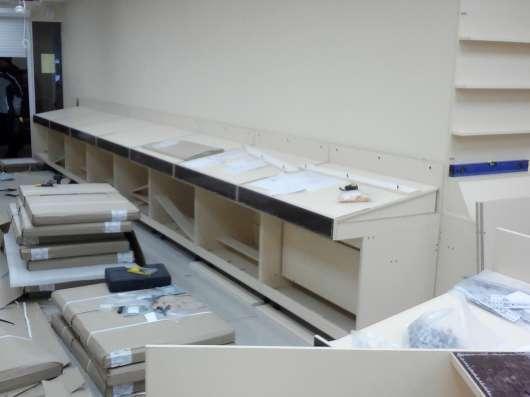 монтаж торгового оборудования в Екатеринбурге Фото 3