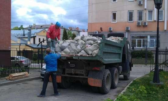 Вывожу строительный мусор на отвал