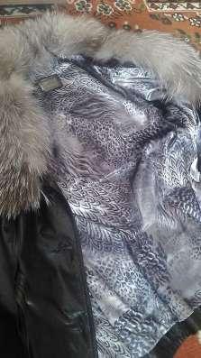 кожаная куртка с мехом ISNOVA в Перми Фото 2
