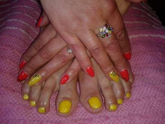 Все услуги по ногтям(ручки и ножки) В Печерах