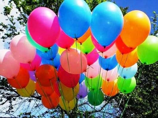 Гелевые воздушные шары, оформление