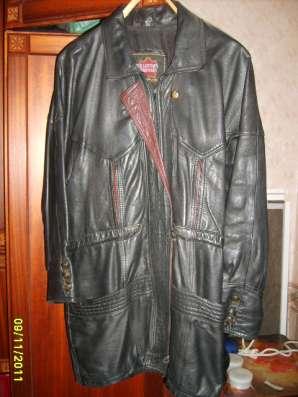 Куртка, кожа натуральная