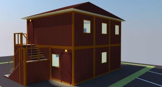 Модульное офисное здание (АБК) «Своё дело»