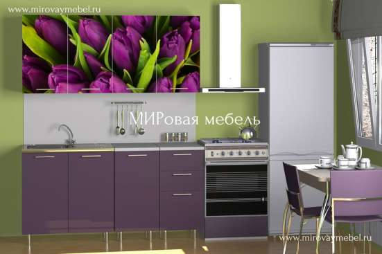Кухни с фотопечатью в Костроме Фото 1