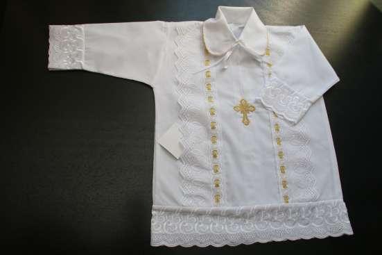Крестильная рубашка для мальчика в Краснодаре Фото 1