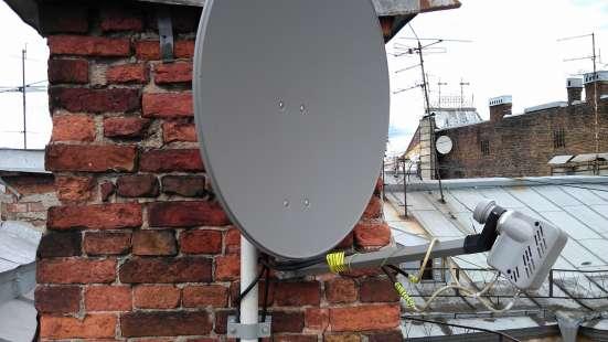 Спутниковый интернет : KiteNet-0.75м. в комплекте. Проверка в Санкт-Петербурге Фото 3