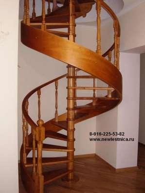 Красивые лестницы для дома, квартиры или коттеджа в Москве Фото 1