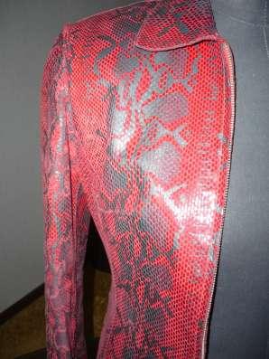 Натуральная кожаная женская куртка в Шадринске Фото 1