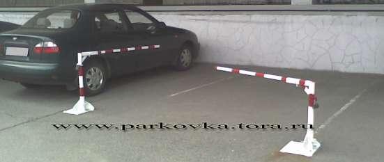 Установка барьеров парковочных, парковочных блокираторов в Москве Фото 5