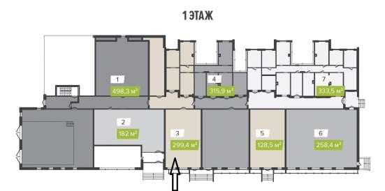 Помещение свободного назначения, 299.4 м²