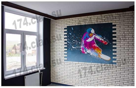 Роспись стен и интерьеров,граффити,рисунок на асфальте в Челябинске Фото 1