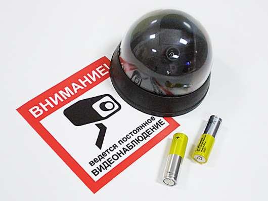 Камера безопасности (муляж) в Краснодаре Фото 2