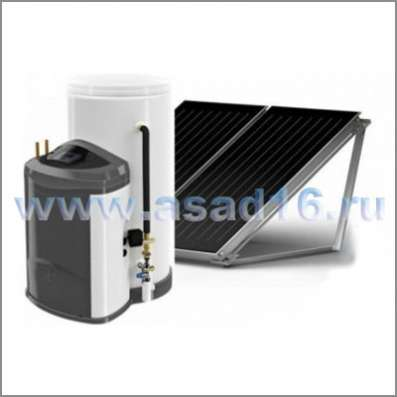 Солнечный водон-ль 300 л Ariston KAIROS FAST CD1 300-2TТ