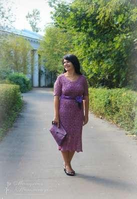 Вязаные платья и изделия, русские кружева