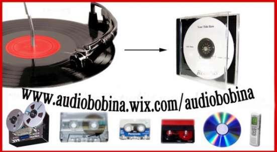 Оцифровка видео и аудиокассет, бобин,VHS, фото и кинопленок