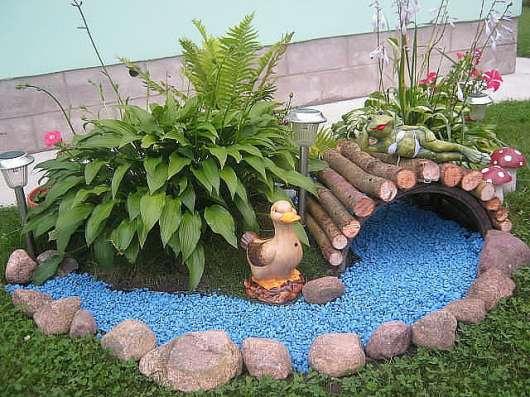 Ландшафтный цветной декоративный щебень в Казани Фото 4