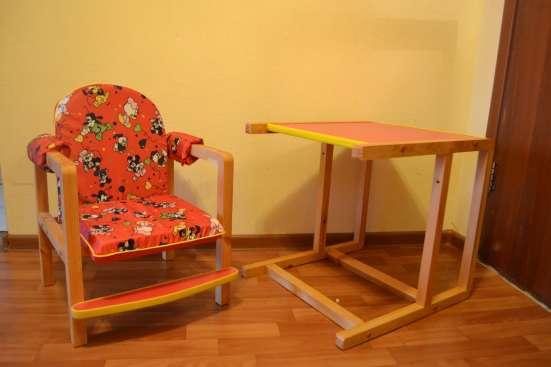 Детский стол и стул в Балашихе Фото 2