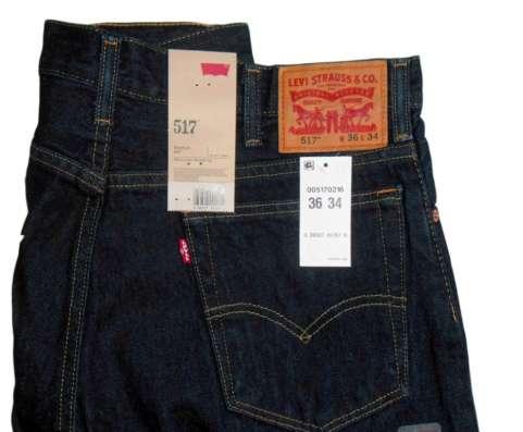 Отличные джинсы Levis 517 Boot Cut 36х34 в Москве Фото 2