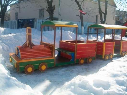 Деревянные домики и машины для детей в Подольске Фото 3