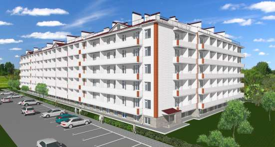 Квартира-студия 25м2  с 2-мя окнами