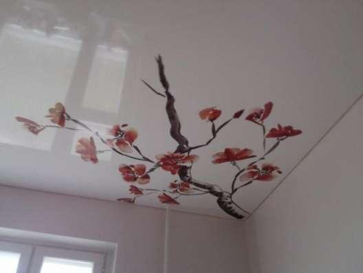 Матовый натяжной потолок в кухню всего за 3 тыс. р