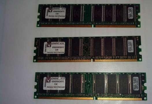 Оперативная память Kingston 512Mb DDR