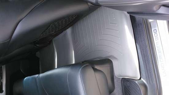 Коврики Weathertech для Toyota Land Cruiser 200 2012 года в Новосибирске Фото 4