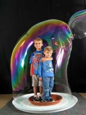 Шоу мыльных пузырей в Новосибирске Фото 1