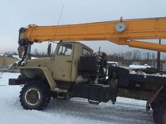 АВТОКРАН ИВАНОВЕЦ,2005г.в.,25 тонн,шасси УРАЛ,вездеход 6х6