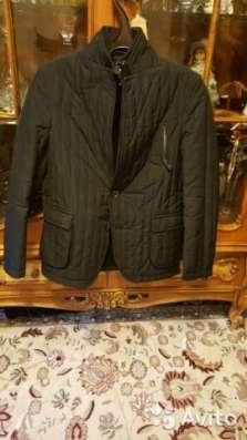 Куртка черная осенняя