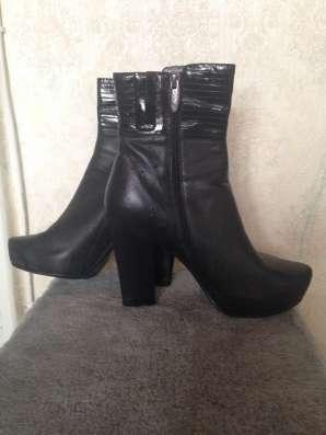 Ботинки женские демисезоные р 39