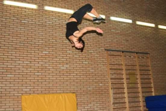Любительская секция акробатики и батутной подготовки