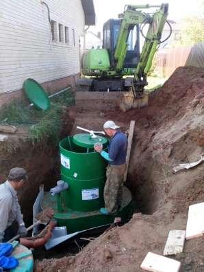 канализация автономная до 5 человек
