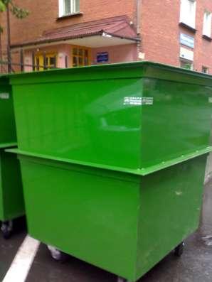 Контейнеры для мусора в Омске Фото 1